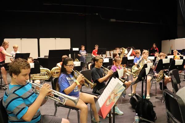 Summer Band Program Completes Inaugural Camp