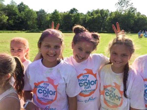Deerfield Elementary PTA Hosts First Ever Color Run