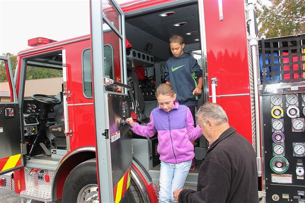 National Fire Prevention Week Celebrated at Deerfield Elementary School