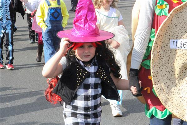 PHOTO GALLERY: Deerfield Elementary Halloween Parade