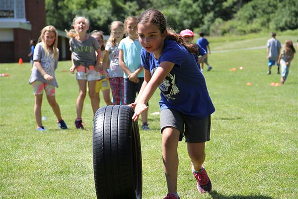 "Deerfield Elementary School Celebrates ""Play Day"""