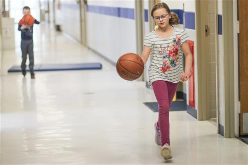 Students Stay Active During First Day of Deerfield Wellness Warriors