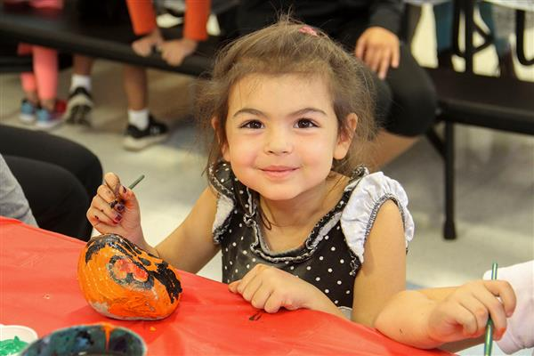 District Elementary Schools Paint Rocks for Special Causes
