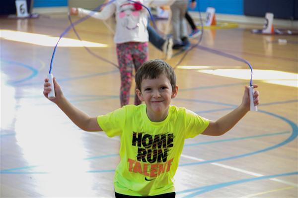 Deerfield Elementary School Concludes PARP with Jump Rope-A-Thon
