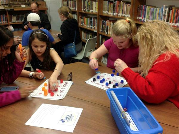 Math Power Hour Held at Deerfield Elementary