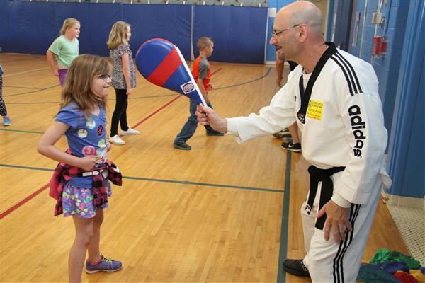 Students at Deerfield Elementary School Learn Valuable Lesson in Physical Education Class