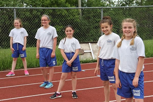 Annual Robson Ellis 5th Grade Track Meet Held at Wadas Field