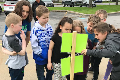 Students Participate in First Ever Story Walk with Local Author Dave Dellecese