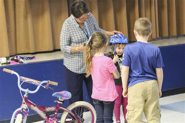 Ride for Missing Children Teaches Safety and Mission of the Ride at District Elementary Schools