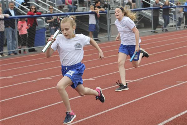 Annual Rob Ellis 5th Grade Track Meet Held at Wadas Field