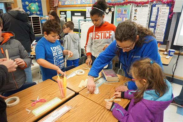 Marcy Elementary Holds PARP Family Night