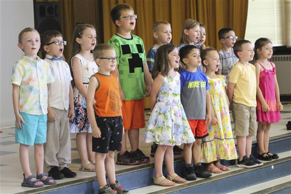 Marcy Kindergarten Classes Perform Year End Shows
