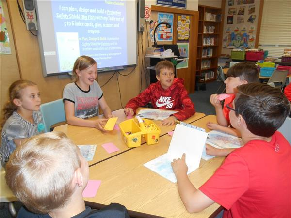 Marcy Elementary Students Participate in Engineering in a Novel Way