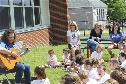 First Graders Participate in Camp Skeeter