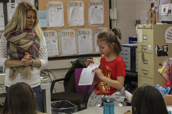 Fourth and Fifth Graders Learn About Anti-Bullying Strategies