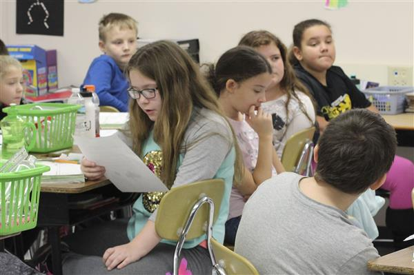 Fifth Grade Students Say 'Thank You' to Local First Responders for Operation Gratitude
