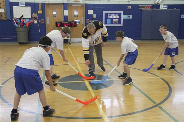 Annual Coffee Cup Floor Hockey Championship Held at Westmoreland Road Elementary