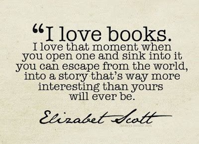 I love books quote