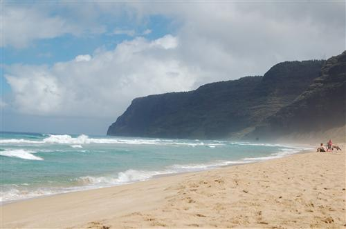 Poli Hali Beach, Hawaii 2012