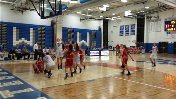 Girls Varsity Basketball Team Defeats Fulton in sectional game