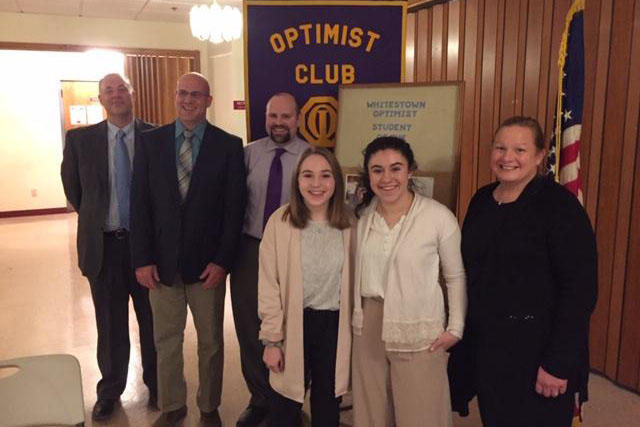 Senior Gabrielle Papale Named January Student of the Month by Optimist Club of Whitestown