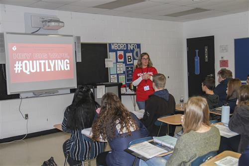 Whitesboro CSD Teams Up With American Heart Association for #QuitLying Day