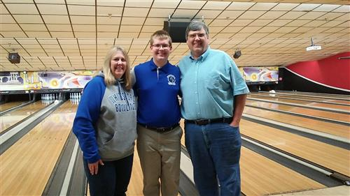 Senior Bowlers Recognized at Match Against Proctor in Utica