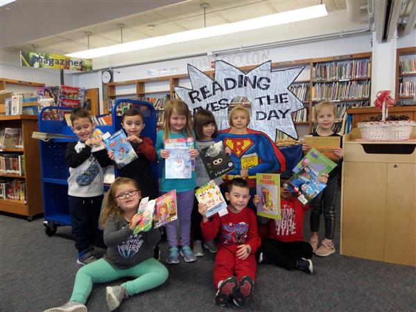 Deerfield Elementary Students Participate in Book Swap for PARP Program