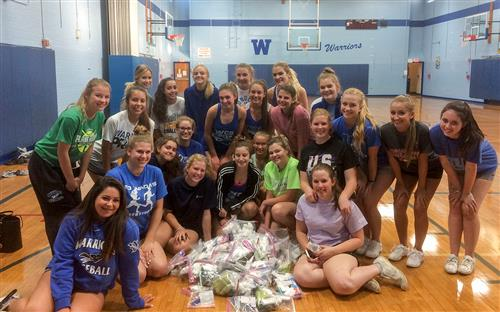 Whitesboro Cheerleaders Assist Refugees Thousands of Miles Away