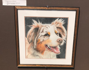 High School Student Wins 'Best in Show' at MWPAI Art Show