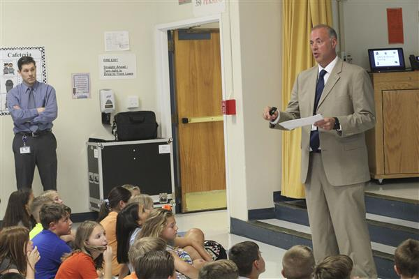 Students Learn Safety and Security Procedures to Kick Off New School Year