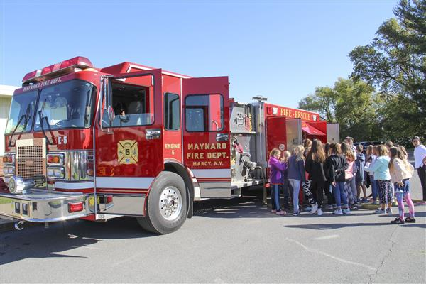 Local Fire Departments Teach Elementary Students About Fire Prevention