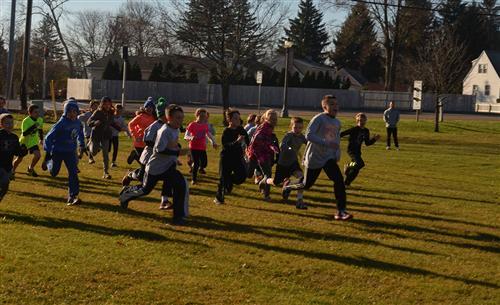 Kids racing/runnning