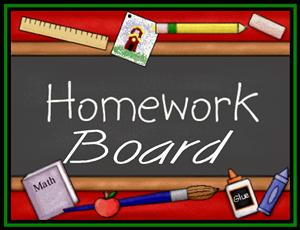 wboro homework boards