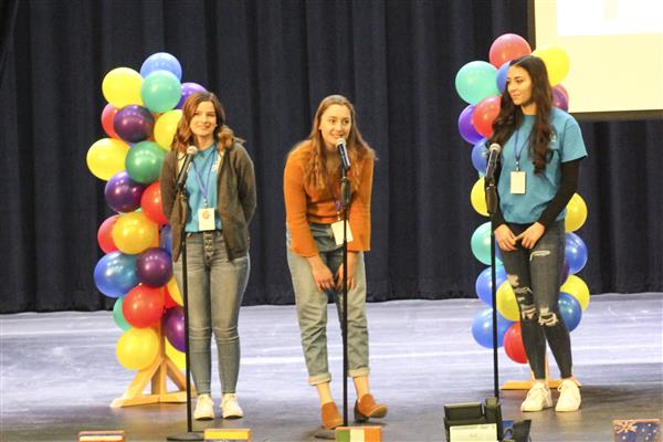 Whitesboro High School Welcomes Area Foreign Exchange Students for 44th Annual Foreign Student Day