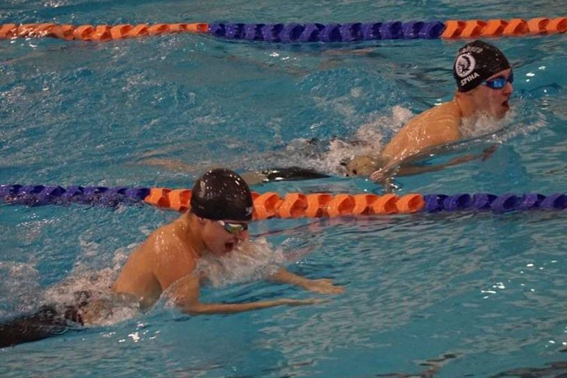 Whitesboro Senior Carson Spina Earns Section Title for Swimming