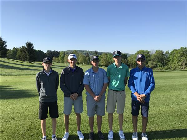 Five Varsity Golfers Compete in State Qualifier, Domagal Advances to State Tournament