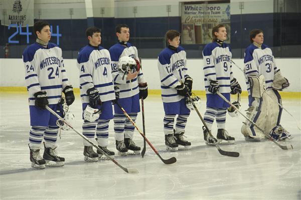 Varsity Hockey Team Victorious on Senior Night, Clinches Spot in