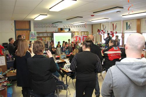 concert in classroom